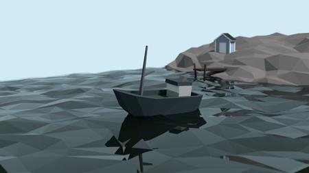 båt 3d