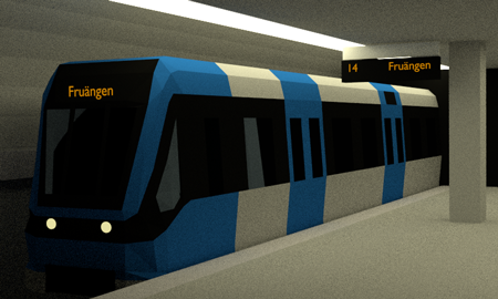 tunnelbana 3d