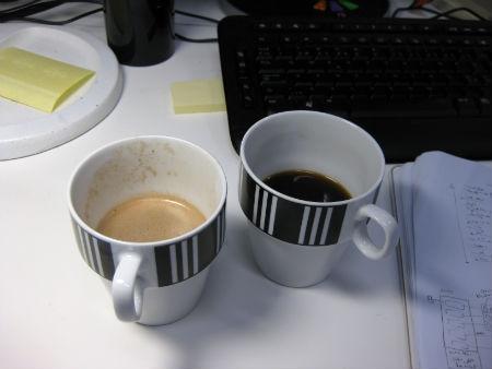 kaffe choklad