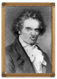 Vitkor som Beethoven